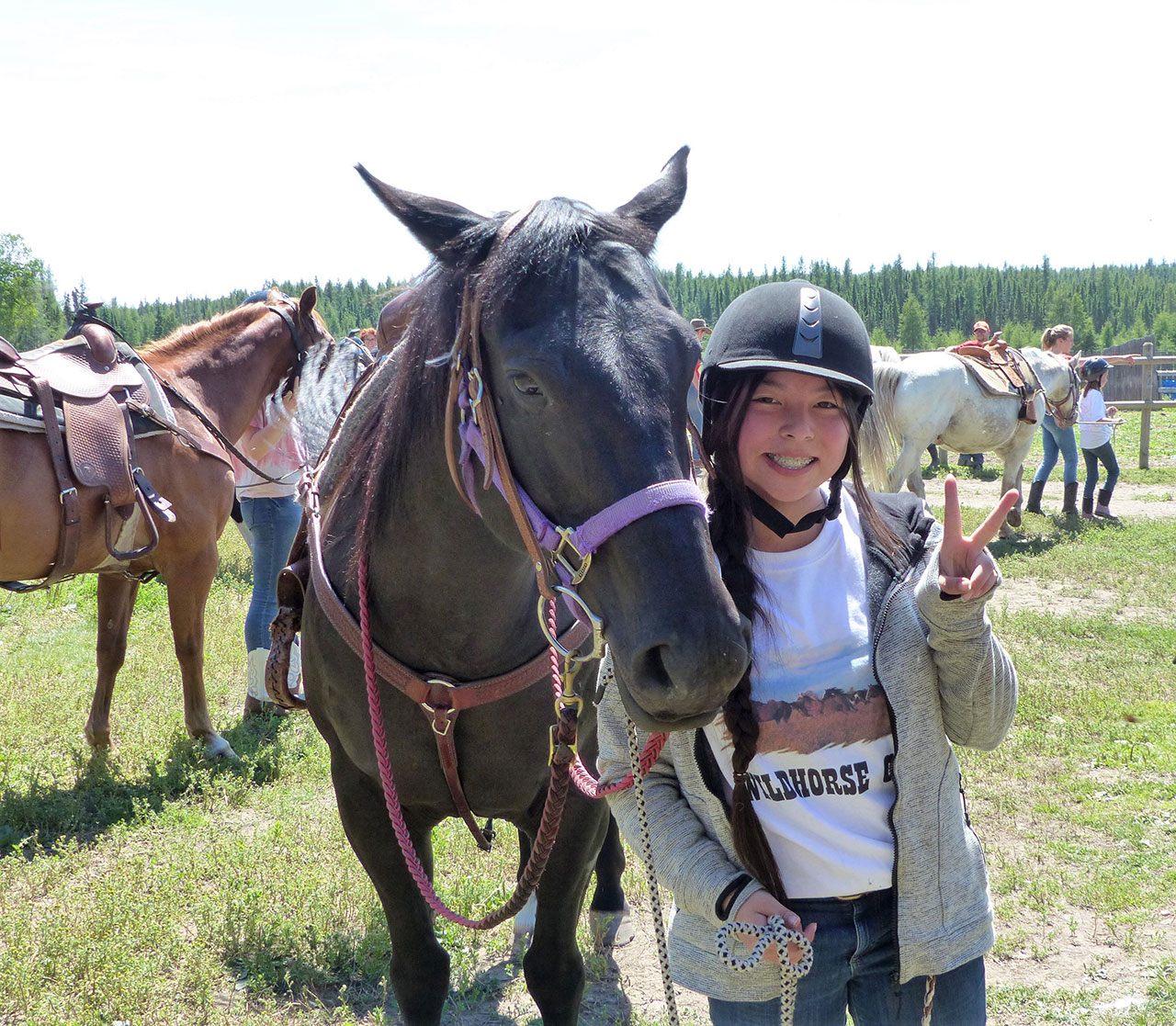 2019 Girls Summer Horse Riding Camps – Wild Horse Camp